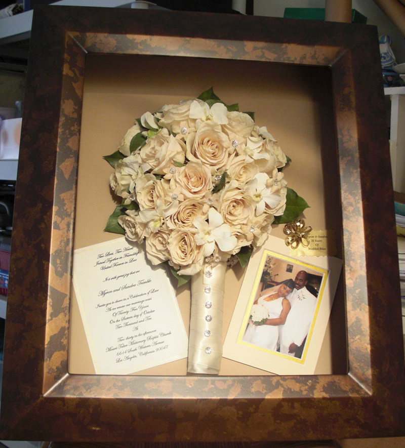 South Bay Floral Preservation, Cherish Your Wedding Bouquet Forever!